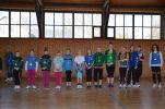 Lauenhainer Winter Athletics 2013: Die Medaillengewinner in den weiblichen Altersklassen.